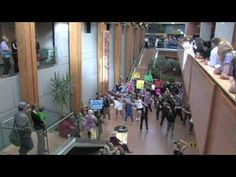 As part of our September Healthy Living Challenge, we performed a Flash Mob at the University Hospital of Northern BC in Prince George. Health can be fun!