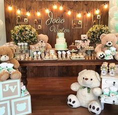 73 Best Teddy Bear Baby Shower Theme Images Baby Boy Shower Baby