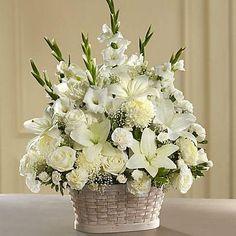 Gladiolus Arrangements, Basket Flower Arrangements, Funeral Floral Arrangements, Artificial Flower Arrangements, Beautiful Flower Arrangements, Church Flowers, Funeral Flowers, Memorial Flowers, Beautiful Bouquet Of Flowers