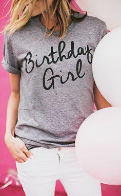 I'm the birthday girl!