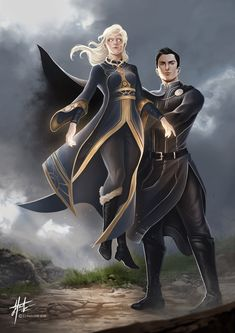 Alina and The Darkling from the Shadow and Bone series by Leigh Bardugo Book Characters, Fantasy Characters, Fanart, Shadow Bone, Character Inspiration, Character Art, Bone Books, Alina Starkov, The Darkling