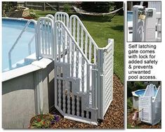 61 Best Pool Steps And Ladders Images Above Ground