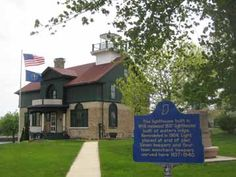Michigan City Old Lighthouse museum   Heisman Harbor Road, Washington Park  April - October 1:00 PM to 3:30 PM Central Time all days but Mondays  Tour the historic 1858 Michigan City Lighthouse and climb the tower into the lantern room.