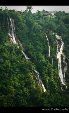 Dat Taw Gaint Waterfall - Pyin Oo Lwin, Myanmar. #myanmar