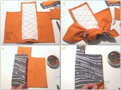 This time I found my ideal method to sew a … – Bag World Pencil Case Pouch, Zipper Pouch Tutorial, Small Sewing Projects, Handbags For Men, Handmade Purses, Bag Patterns To Sew, Fabric Bags, Sewing Techniques, Small Bags
