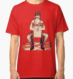 """""""Bodystocking, Ropes and Purple Ball Gag BDSM Play"""" Classic T-Shirts 35% off Men's Classic, Tri-Blend, Longsleeve. Women's T, Vneck, Relaxed. 20% off all else: use code CYBERMON - Also Available as T-Shirts & Hoodies, Men's Apparels, Women's Apparels, Stickers, iPhone Cases, Samsung Galaxy Cases, Posters, Home Decors, Tote Bags, Pouches, Prints, Cards, Mini Skirts, Scarves, iPad Cases, Laptop Skins, Drawstring Bags, Laptop Sleeves, and Stationeries #sexy #erotic #art #naughty #kinky"""
