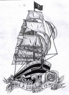Tattoo Liberated: Ship Tattoo