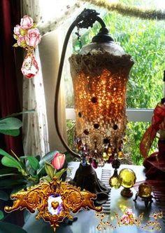 My♥.•:*´¨`*:•♥crystal lamp