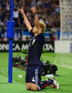 本田「W杯決められてよかった」/W杯予選