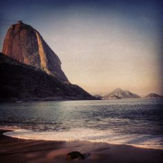Sugar loaf. Brazil. by milch_maedchen
