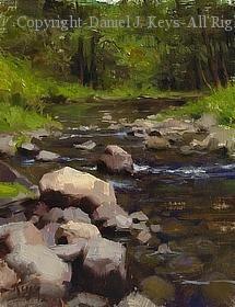 Merced River, Yosemite by Daniel J. Keys