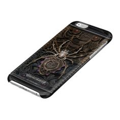 Spider Guard Steampunk. Clear iPhone 6/6S Case★ #Steampunk #Samsung #iphone #Cases #S6 #S7 #ipad #samsunggalaxys #victorian #phonecases #accessories #gosstudio