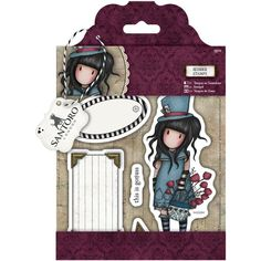 Docrafts Gorjuss Santoro Stamp The Hatter