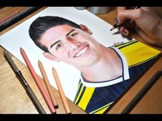 Drawing James Rodriguez - YouTube
