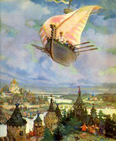 Nicolai Kochergin ~ The Flying Ship