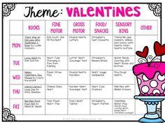 Tons of fun Valentine themed activities and ideas perfect for tot school, preschool, or the kindergarten classroom.