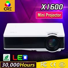 78.99$  Buy now - http://alid45.worldwells.pw/go.php?t=32687252384 - 1000 Lumens LED Projector Multimedia Home Cinema Proyector 800*480 USB/AV/HDMI/VGA TFT LCD Panel Projector 78.99$