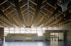 Prix national de la construction bois - Panorama - GYMNASE MULTISPORTS #FIBRA #bois #architecture