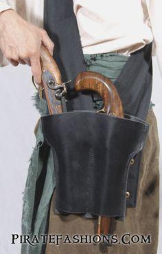 Brace of Pistols Holster Baldric