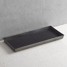 I need to grab one more of these 'Zinc Boot Trays' from Crate and Barrel for my little mudroom area.  Item #221872, $39.95.
