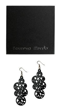 Jewelry Packaging, Jewelry Branding, Timeless Design, Packaging Design, Crochet Earrings, Drop Earrings, Shop, Black, Jewellery Packaging