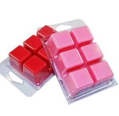 Clamshell Containers for making wax melts.  Excellent prices!  #waxtarts