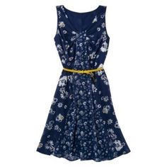 Target Blue Floral Bridesmaid Dresses