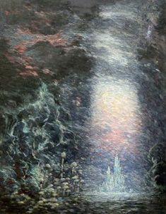 The Fountain, artist Sidney Sime