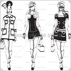 models - Fashion Vector Stock