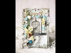 Shabby Card video Tutorial by Evegeniya Zakharova | Lindy's Stamp Gang