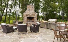 outdoor kitchen  Atlanta Landscape Architecture - Botanica Atlanta | Landscape Design, Construction & Maintenance