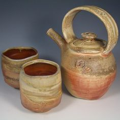 Pottery Tea For Two