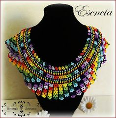 Crochet Necklace, Beaded Necklace, African Necklace, Bead Art, Beading Patterns, Seed Beads, Diy And Crafts, Shop My, Womens Fashion