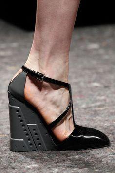 Prada Fall 2014 #details #shoes