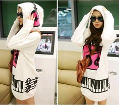 AA Hooded Long loose sweater BACCCC
