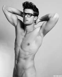 You'd Be Naked Without Those Spectacle(s) | Homotography sexi, glasses, guy, sabin villiard, essenti homm, lui batalha, men, nake, boy