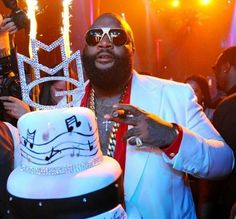 Rick Ross Rick Ross, Maybach Music, Up Fitness, Champagne, Workout Music, Gta, Cake Designs, Hip Hop, Birthday Cake