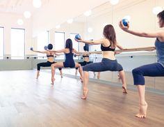 Fitness: Want a dancer's body? Try a ballet barre-based workout
