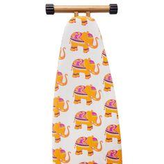 The Macbeth Collection Eleanor Elephant Ironing Board Cover, Orange