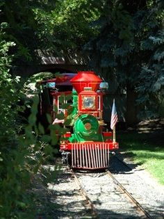 **Belleview Park In Englewood - miniature train, children's farm, creek, playground, and Pirate's Cove Aquatic Center.  Open Memorial Day - Labor Day