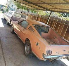 Mustang Fastback pick-up Mustang Fastback, Mustang Cars, Ford Mustangs, 1973 Mustang, Chevrolet Bel Air, Ford Motor Company, American Muscle Cars, Custom Trucks, Custom Cars