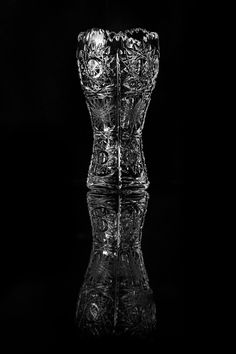 Slovan Crystal - I found this small Slovan Crystal glass while cleaning out the kitchen closet. The hand-engraved details are exquisite and intricate.
