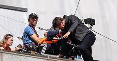 Tom Cruise injured filming stunt on 'Mission: Impossible 6' set #Entertainment_ #iNewsPhoto