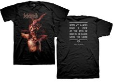 Behemoth Christ T-Shirt for $19.95  http://www.jsrdirect.com/merch/behemoth/behemoth-christ-tee  #behemoth #christ #metaltees #bandtshirts #metaltshirts #bandtees