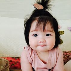 Cute Asian Babies, Korean Babies, Asian Kids, Cute Babies, Father And Baby, Mom And Baby, My Baby Girl, Baby Kids, Cute Little Baby