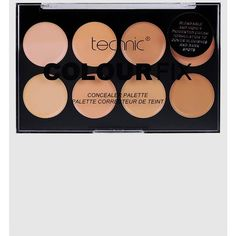 Technic Colourfix Concealer Palette ($7.91) ❤ liked on Polyvore featuring beauty products, makeup, face makeup, concealer, multi and palette concealer
