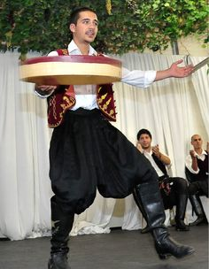 Cypriot flour sifter dance