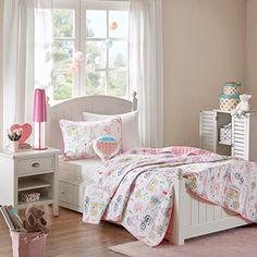 Mi Zone Kids Bonjour Coverlet Set Pink Twin Mizone Kids https://www.amazon.com/dp/B01MT2JOGE/ref=cm_sw_r_pi_awdb_t1_x_dxTSAbR4WZ4X1