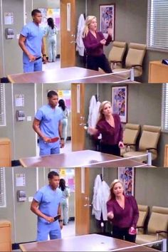 """""""This is silly!"""" -- Jessica Capshaw in the GA s9 bloopers"""