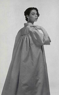 AudreyHepburnesque...1956 Jacques Fath